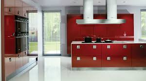 Kitchen Red Cabinets Stunning Interior Design Kitchen Ideas Orangearts Modern Color