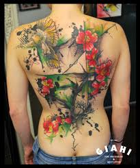 bird flowers and tree by live two best ideas