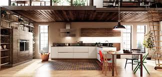 cuisine bois blanchi cuisine en bois blanc et gris plan de travail granit inova cuisine
