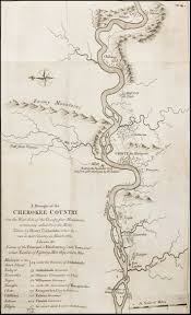 Map Of Virginia Towns by A Draught Of The Cherokee Country On The West Side Of The Twenty