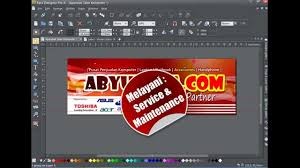software pembuat undangan online membuat efek label stiker tutorial xara designer pro x youtube