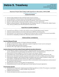 Business Analyst Resume Summary Examples by Resume For Analyst Position Resume For Your Job Application
