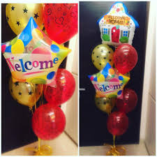 welcome home balloon bouquet welcome home balloon bouquet