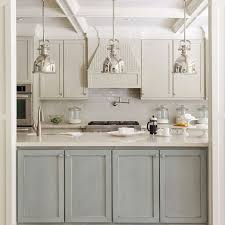 kitchens with light gray kitchen cabinets 21 ways to style gray kitchen cabinets