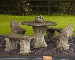borderstone woodland garden furniture patio set gardensite co uk