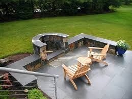 Backyard Fire Pits Designs Fire Pits View In Gallery Modern Round Steel Bowl Fire Pit On