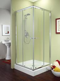 36 Shower Doors Fleurco Banyo Amalfi Square 32 X 32 Frameless Corner Entry