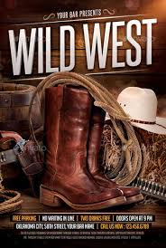 template flyer country free wild west poster template best 20 country and western style flyer