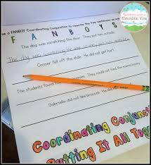 teaching with a mountain view coordinating conjunctions and