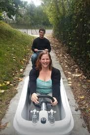 Challenge Bathtub Bathtub Boat For A Cardboard Boat Race Maybe Ideas Bachelor