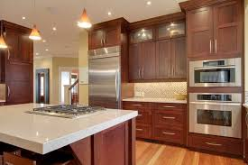 kitchen color schemes with cherry cabinets cherry cabinets with granite countertops pictures superb backsplash
