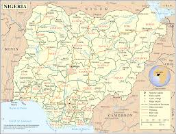 Show Me A United States Map by File Political Map Of Nigeria Svg Wikimedia Commons