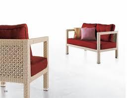 Rattan Curved Sofa by Contemporary Rattan Sofa All Wicker Weather Furniture Set U2014 Desjar