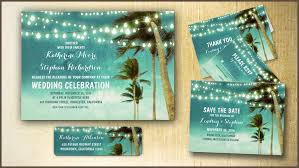 palm tree wedding invitations read more teal ombre wedding invitations with lights