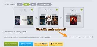 purchasing and sending gifts u2013 humble bundle