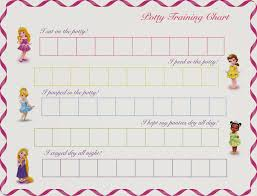 commodity home decor free printable princess potty training chart