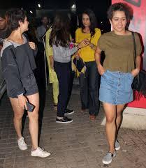 Aamir Khan U0027s Dangal Daughters Fatima Sana Shaikh Sanya Malhotra U0027s