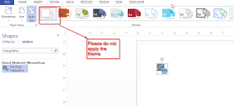 visio 2010 stencil not displaying properly in 2013