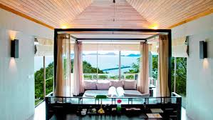 Resort Bedroom Design Three Bedroom Residence Villa Sri Panwa Luxury Hotel Phuket Thailand