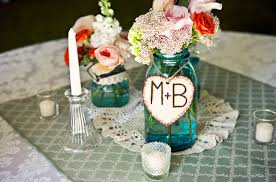 jar centerpieces for weddings wedding centerpieces with blue jarswedwebtalks wedwebtalks