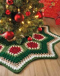 ravelry ripple tree skirt pattern by margret willson