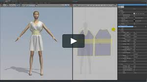 3d Fashion Design Software Expressing Realistic Physical Properties On Marvelous Designer