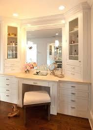 custom bathroom vanity ideas custom bedroom vanity best built in vanity ideas on organize hair