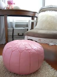 Pink Pouf Ottoman Pouf I Would Name This One Foofa Obviously Because I A 1 5