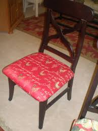 how to recover dining room chair seat using staple gun the style