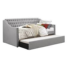 daybed with pop up trundle amazon com