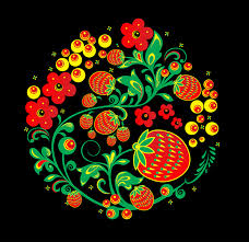 russian traditional ornament hohloma on behance