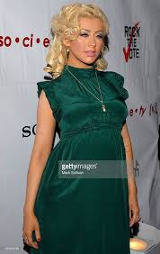 rock the vote hosted by christina aguilera photos and images
