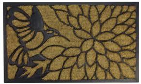 Coir And Rubber Doormat Our Top Ten Door Mats Of 2016 Christmas Central Blog