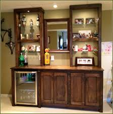 Small Home Bar by 4 Credenza Collection Home Bar With Refrigerator Marvellous Design