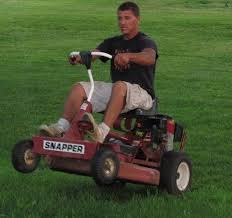 Lawn Mower Meme - my buddy nick has been working on race cars since he was a child