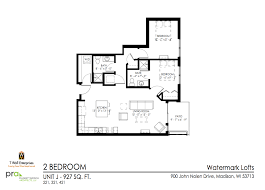 Watermark Floor Plan Watermark Lofts Twe