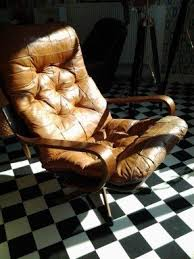 Antique Leather Swivel Chair Brown Swivel Chairs Foter