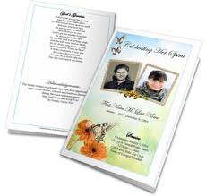 diy funeral programs diy funeral programs and memorial booklets