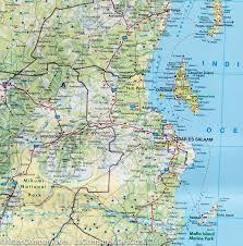 Map Of Uganda Map Of Kenya Tanzania U0026 Uganda Freytag U0026 Berndt U2013 Mapscompany