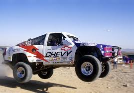 baja trophy truck jimmie johnson restoring his last trophy truck race dezert