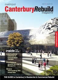 Convention Bureau Christchurch Canterbury Canterbury Rebuild Magazine January 2015 Issue 41 By Metropol Issuu
