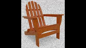 Polywood Classic Adirondack Chair Best Polywood Classic Folding Adirondack Chair Youtube
