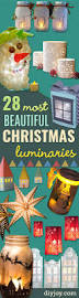 28 most beautiful christmas luminaries diy christmas and craft