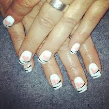 uv gel nails french căutare google unghii cu gel pinterest