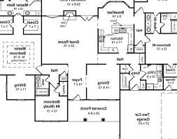 split plan house sunroom ranch house plans with basement split floor plans