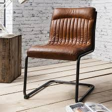 hudson living capri leather chair dining chair modish living