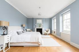 Bedrooms With Blue Walls Fitzroy Development Transitional Bedroom London By Chris Snook