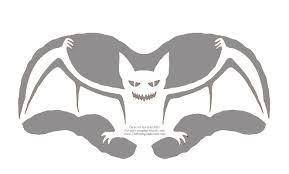 spooky bat pumpkin carving pattern u2013 celebrating halloween