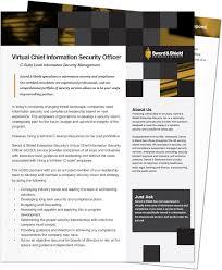virtual chief information security officer vciso sword u0026 shield