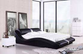 king bedroom sets modern bedroom furniture european modern design top grain leather king